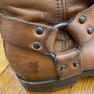 Frye Phillip Harness Boots (Brown)